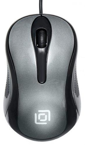 Фото - Мышь Oklick 385M 385M GREY черный/серый 1000dpi USB 3but (1066863) компьютерная мышь oklick 545mw черный серый usb