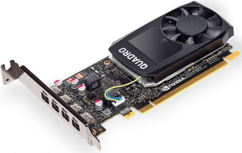 Видеокарта HP Graphics Card NVIDIA Quadro P1000 1ME01AA P1000, 4GB, (Z240 SFF/Tower, Z440)