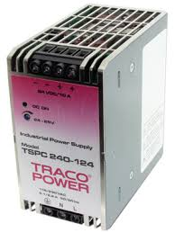 Преобразователь AC-DC сетевой TRACO POWER TSPC 120-124 120Watt;24 VDC / 5000 mA;DIN-rail power supply with rugged metal case for harsh industrial envi