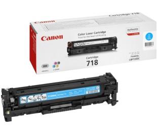Картридж Canon 718C 2661B002 для LBP7200Cdn, LBP7210Cdn, LBP7660Cdn, LBP7680Cx, MF8330Cdn, MF8340Cdn, MF8350Cdn, MF8360Cdn, MF8380Cdw голубой