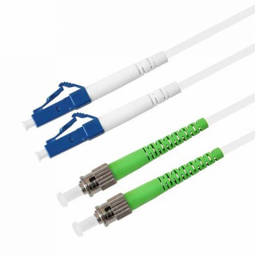 Кабель патч-корд волоконно-оптический TELCORD ШОС-2x3.0-DLC/U-DST/A-SM(A1)-150м-LSZH-WH  - купить со скидкой