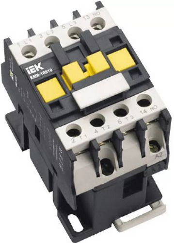 Контактор IEK KKM11-009-400-01 КМИ-10911 9А 400В/АС3 1НЗ