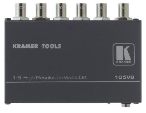 Усилитель-распределитель Kramer 105VB 90-013590 1:5 для композитного видеосигнала, 0.32кг