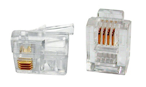 Hyperline PLUG-6P4C-P-C2-100
