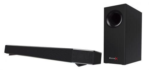 Саундбар Creative SoundBlasterX KATANA 51MF8245AA000 с сабвуфером, 75Вт, черный