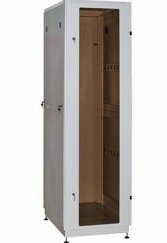 шкаф напольный 19 42u nt basic mg42 68 g 196511 600 800 дверь со стеклом серый Шкаф напольный 19, 42U NT PRACTIC 2 MG42-88 G 216866 800*800, дверь со стеклом, серый