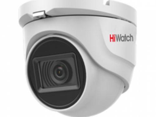 Видеокамера HiWatch DS-T503 (С) 5Мп уличная HD-TVI с EXIR-подсветкой до 30м, объектив 2.8мм