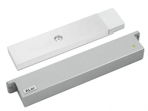Замок ALer AL-300 12V Premium белый, сила удержания 300 кг, 12 В/0,35 А, датчик Холла, геркон, индикация