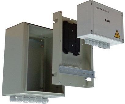 Шкаф TFortis CrossBox-1 Металлический с установленым оптическим кроссом для PSW