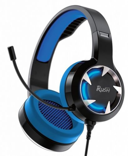Наушники SmartBuy RUSH MACE SBHG-8300 динамики 40мм, гибкий микрофон, синяя