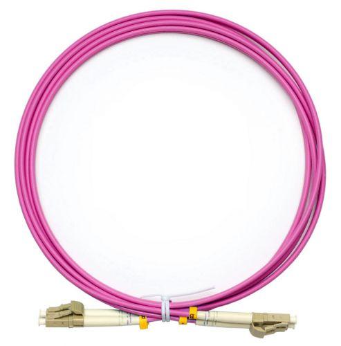 Кабель патч-корд волоконно-оптический TopLAN DPC-TOP-OM4-LC/P-LC/P-7.0 дуплексный, LC/PC-LC/PC, OM4 MM 50/125, 7.0 м LSZH кабель патч корд волоконно оптический toplan dpc top om4 lc p lc p 3 0 дуплексный lc pc lc pc om4 mm 50 125 3 0 м