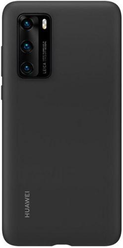 Чехол Huawei 51993719 для смартфона HUAWEI модель P40 Silicone Black
