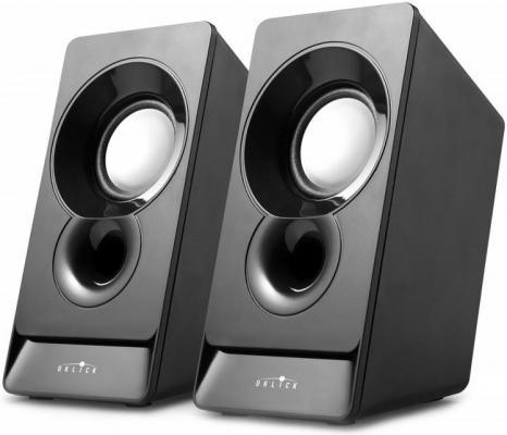 Компьютерная акустика 2.0 Oklick OK-165 D5 черный, 6 Вт