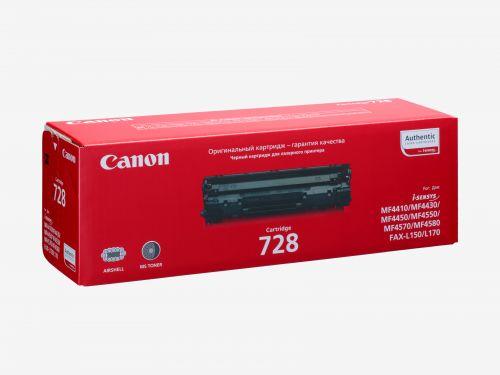 Картридж Canon 728 3500B010 для MF4410, MF4430, MF4450, MF4550d, MF4570dn, MF4580dn, MF4730, MF4750, MF4780w, MF4870dn, MF4890dw,