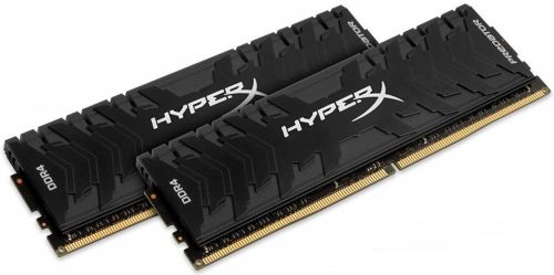 Модуль памяти DDR4 32GB HyperX HX432C16PB3K2/32 Predator 3200МГц CL16 DIMM (Kit of 2) XMP