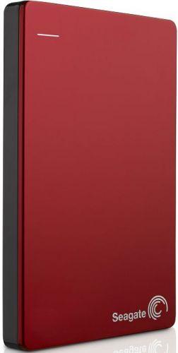 Seagate Внешний жесткий диск 2.5'' Seagate STDR2000203 Backup Plus Slim Portable Drive 2TB USB 3.0 Red