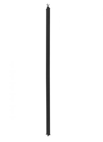 Колонна Legrand 653032 Snap-On алюминиевая с крышкой из пластика 2 секции 2,77 метра, с возможностью увеличения высоты колонны до 4,05 метра, цвет чер