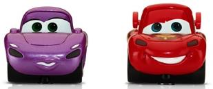 Disney Cars2 AppMates Lightning McQueen and Holley ShiftWell