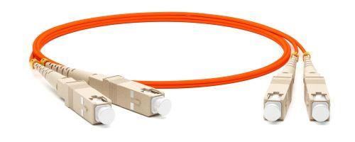 Кабель патч-корд волоконно-оптический Hyperline FC-D2-62-SC/PR-SC/PR-H-3M-LSZH-OR SC-SC,2.0 мм,duplex,LSZH,3м патч корд hyperline fc d2 50 sc pr sc pr h 2m lszh 2 м оранжевый