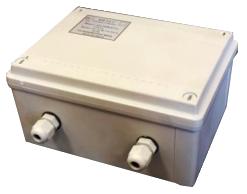 Блок питания Телеинформсвязь БП-5А-Г 12В стабилизированый, ток 5,0 А круглосуточно, импульсный, герметичный (уличный) IP56, пластиковый корпус, -25...