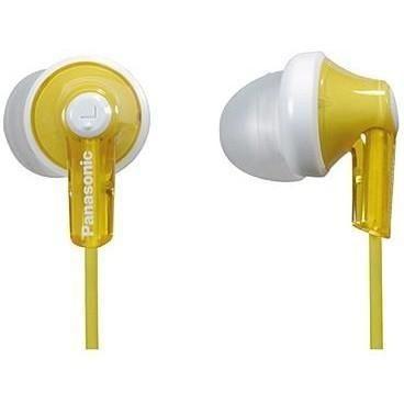 Наушники Panasonic RP-HJE118 желтые