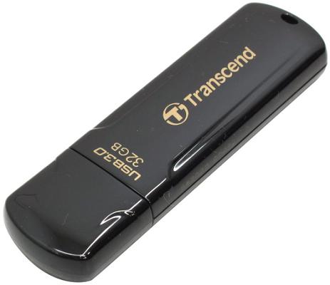 Накопитель USB 3.0 32GB Transcend JetFlash 700 TS32GJF700 черный накопитель usb 3 0 32gb transcend jetflash 700 ts32gjf700 черный