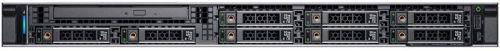 Фото - Сервер Dell PowerEdge R340 1U/8SFF/1xE-2124 (4c, 3.3 GHz, 71`W)/ 1x8GB UDIMM ECC/ H330/1x1,2 TB 10k SAS/2xGE/1x350W/iDRAC9 Exp/DVDRW/Bezel/Static Rail сервер dell poweredge r340 1xe 2174g 1x16gbud x8 1x1 2tb 10k 2 5 sas rw h330 id9ex 1g 2p 1x350w 3y