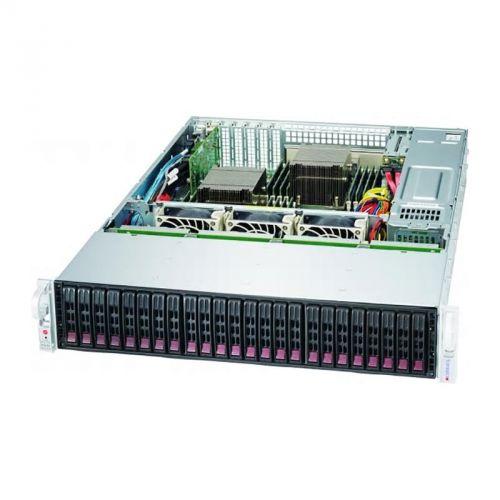 Корпус серверный Supermicro CSE-216BE1C4-R1K23LPB 2U (24 x 2.5 HS Bays, 12G SAS3, 13 13.68, EE-ATX, E-ATX, ATX, 7xLP, 1200W Titanium)