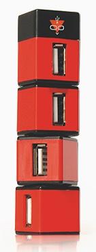 Konoos Разветвитель USB 2.0 Konoos UK-05