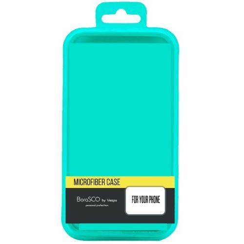 Чехол BoraSco Microfiber Case 38972 для Xiaomi Redmi Note 9 черный