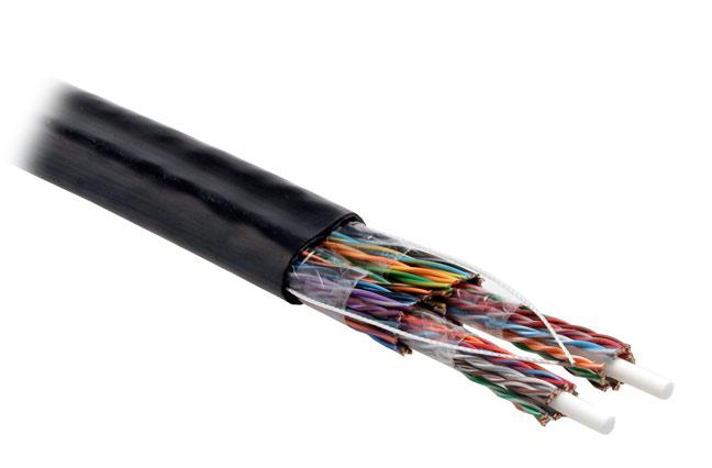 Hyperline UUTP50-C5-S24-OUT-PE-BK
