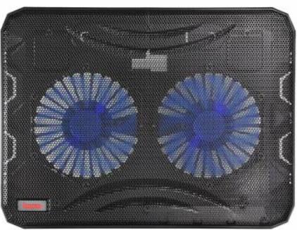 Фото - Подставка для ноутбука с охлаждением Buro BU-LCP156-B214 15.6 358x270x21мм 1xUSB 2x 140ммFAN 597г металлическая сетка/пластик черный подставка для ноутбука 15 6 buro bu lcp156 b214 металл пластик 1000об мин 22db черный
