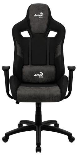 Кресло AeroCool COUNT 4710562751246 iron black, игровое, макс нагрузка 150кг