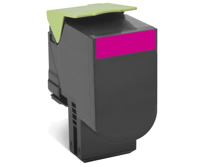 Картридж Lexmark 80C8HME с тонером высокой ёмкости для CX310/410/510, малиновый, Corporate (3K)