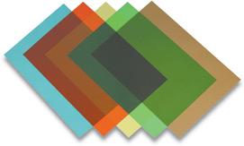 Обложка Fellowes FS-53773 для переплёта A4 Transparent, зеленый, PVC, 200 мкм, 100 шт.