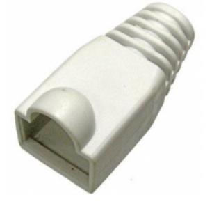 Колпачок на коннектор RJ-45 TWT TWT-BO-6.0-WH/100 защитный, белый, 100 шт. в упак. 0 pr на 100