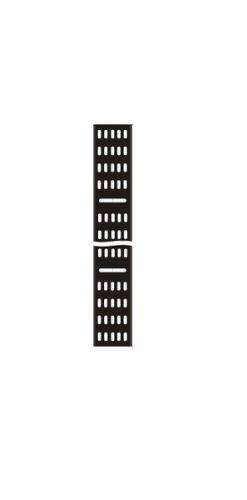 Лоток TWT TWT-CB-CTR-42U-2 вертикальный,кабельный для шкафов 42U,шириной 200 мм,черный тестер кабельный lanmaster twt tst 200