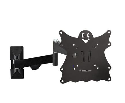 Фото - Кронштейн настенный Kromax CASPER-204 Kromax_20176 15-40, макс. 30кг, поворот и наклон, черный кронштейн настенный onkron ut4 40 85 наклон 0° 15° до 75кг черный