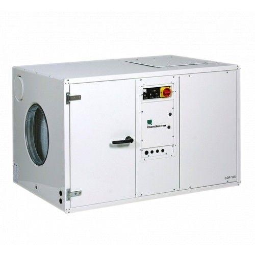 Осушитель воздуха Dantherm CDP 125 351554 для плавательных бассейнов, канальный, с подмесом свежего воздуха, трехфазный