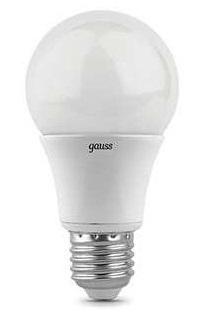 Лампа светодиодная Gauss 102502107 LED A60 E27 7W 2700K лампа светодиодная gauss 102802108 e27 a60 8вт
