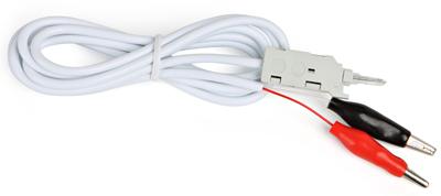 Шнур тестовый 2-х контактный Hyperline KR-CABLE-CRO2 зажимные контакты