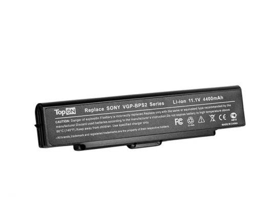 Аккумулятор для ноутбука Sony TopOn TOP-BPS2 к серии VAIO VGN-AW-CS-FW-NS-NW-SR VPC-CW-F-Y-M 11,1V 4400mAh: VGP-BPS21 VGP-BPL21