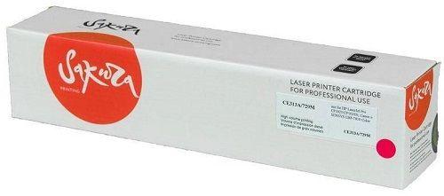 Картридж Sakura SACE313A/729M для HP LaserJet Pro CP1025/CP1025NW, Canon i-SENSYS LBP-7010 Color пурпурный, 1000 к.
