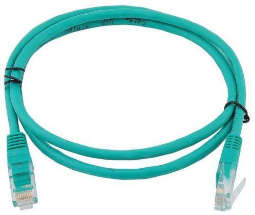 Фото - Кабель патч-корд UTP 5e кат. 1,5м. GCR GCR-LNC05-1.5m , AWG24, RJ45, литой (Зеленый), пластик пакет кабель патч корд utp 5e кат 20м gcr gcr lnc03 20 0m rj45 литой серый