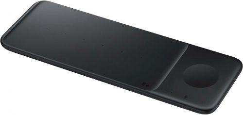Зарядное устройство беспроводное Samsung EP-P6300 2A PD для Samsung кабель USB Type C черный беспроводное зарядное устройство samsung ep n3300 2a pd универсальное кабель usb type c белый ep n3300twrgru