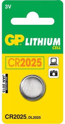 GP CR2025 Lithium