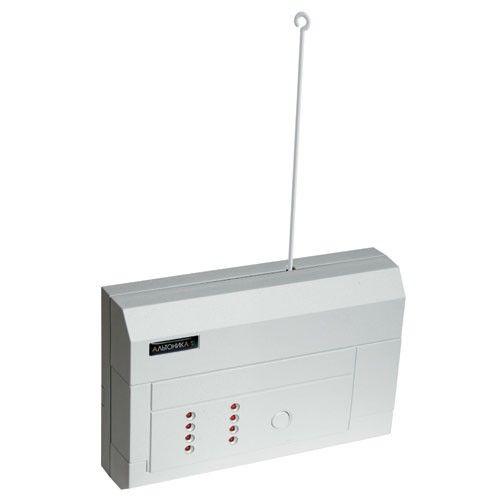 Устройство Альтоника RR-701R радиоприемное, на 8 передатчиков, индикация 8 светодиодами, 1 реле, звуковая сигнализация