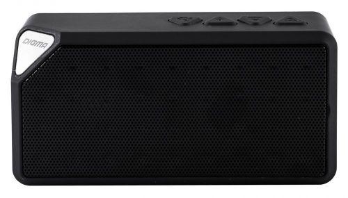 Портативная акустика Digma S-20 SP204B черная, 4W, 1.0, BT