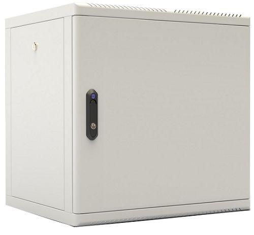 Шкаф настенный 19, 9U ЦМО ШРН-М-9.500.1 (600×520), съемные стенки, дверь металл стенки