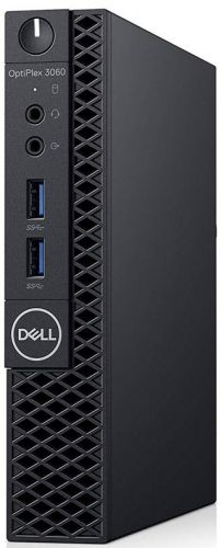 Компьютер Dell Optiplex 3060 Micro i3-8100T (3, 1GHz) 8GB (1x8GB) DDR4 128GB SSD Intel UHD 630 Linux TPM1 years NBD (3060-1097)